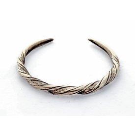 Viking armband Danelagen, försilvrade