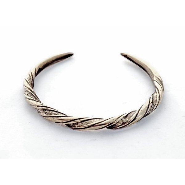 Viking armband Danelaw, verzilverd