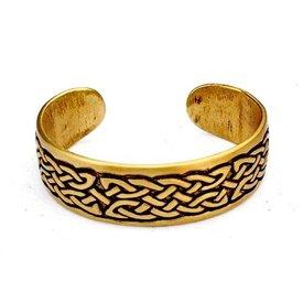 Celtic bracelet with knot motif, bronze