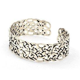 Bracelet celtique Livre de Kells, argentait