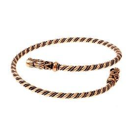 Viking övre armband Gotland, brons