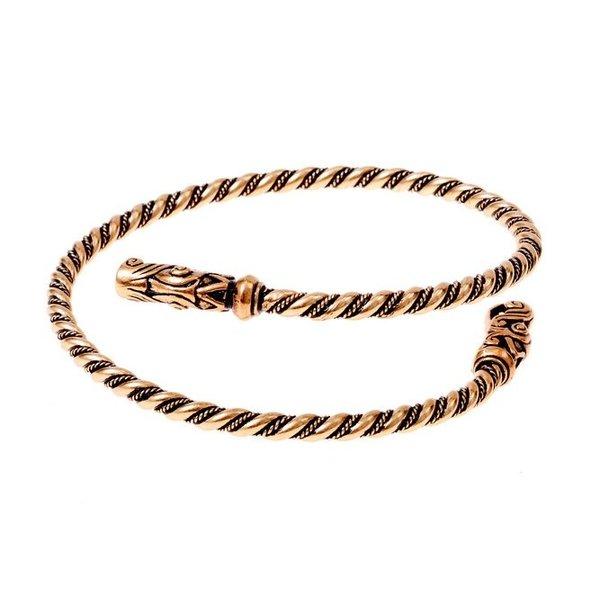 Viking upper bracelet Gotland, bronze