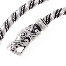 Viking górna bransoletka Gotlandia, posrebrzane