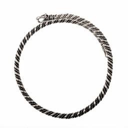 Viking oberen Armband Gotland, versilbert