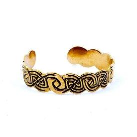 Celtic bracelet Clontarf, bronze