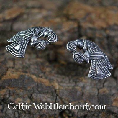 Viking oorbellen