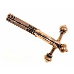 Roman crossbow fibula, bronze
