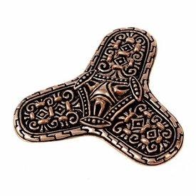 Viking brooch Varnamo, bronze
