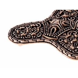 Viking broszka Varnamo, brąz