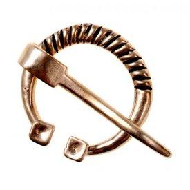 Rusvik horseshoe fibula, bronze
