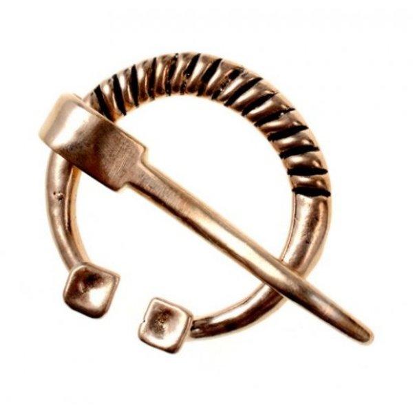 Rusvik hästsko fibula, brons