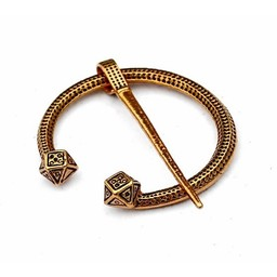 Viking Hufeisen Fibula Finnland, Bronze