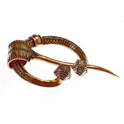 Horse shoe fibula Klintegarda, bronze