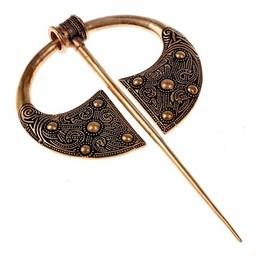 Gaelic brooch Ballyspellan, bronze