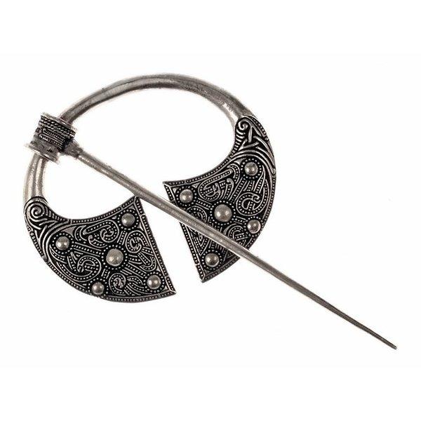 Gaelic brooch Ballyspellan, silvered