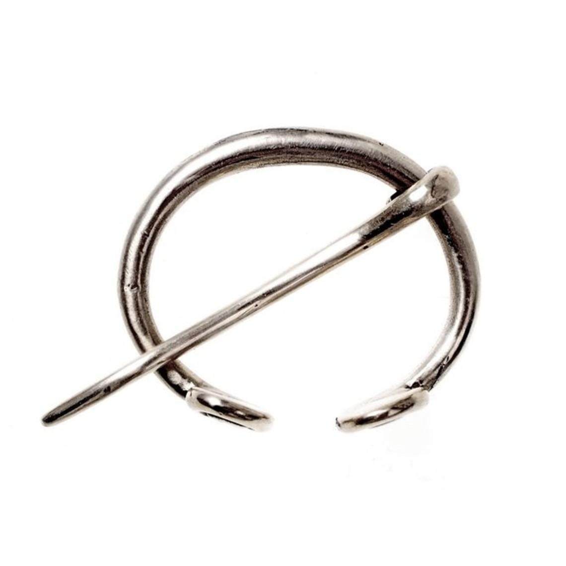 Kleine ringfibula Birka, verzilverd