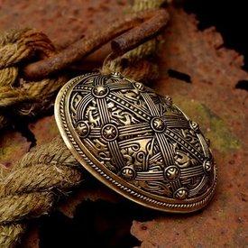 Shield broche Oseberg, bronze, pris per styk