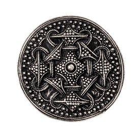 Granulado de Viking peroné disco, plateado