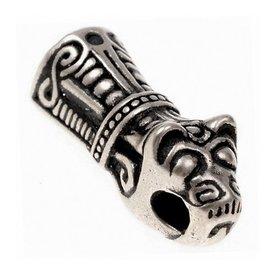 De Viking extremo de la cadena Mandermark, plateado, precio por pieza