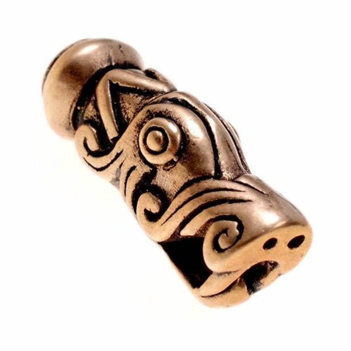 Viking extremo de la cadena de Gotland, bronce, precio por pieza