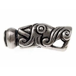 Viking chain end Gotland, silvered, price per piece