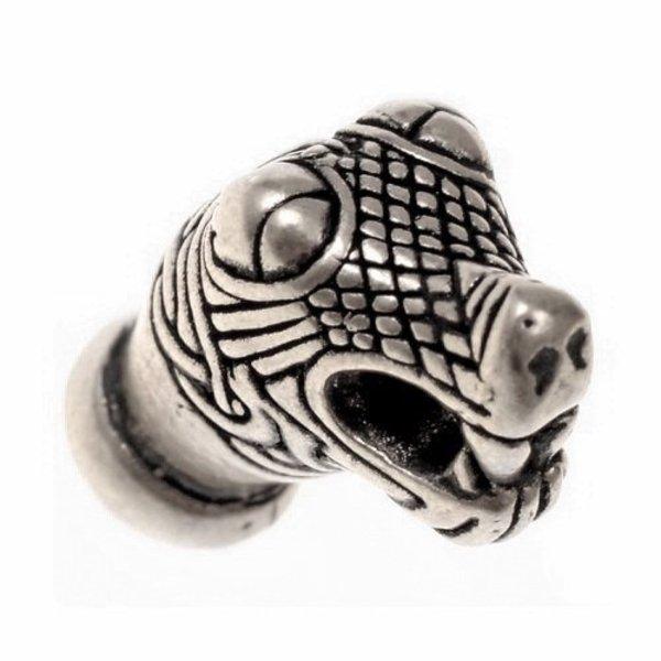 Viking kæde ende Oseberg, forsølvede, pris per styk