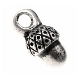 15a siglo bellota botones, conjunto de 5 piezas, estaño