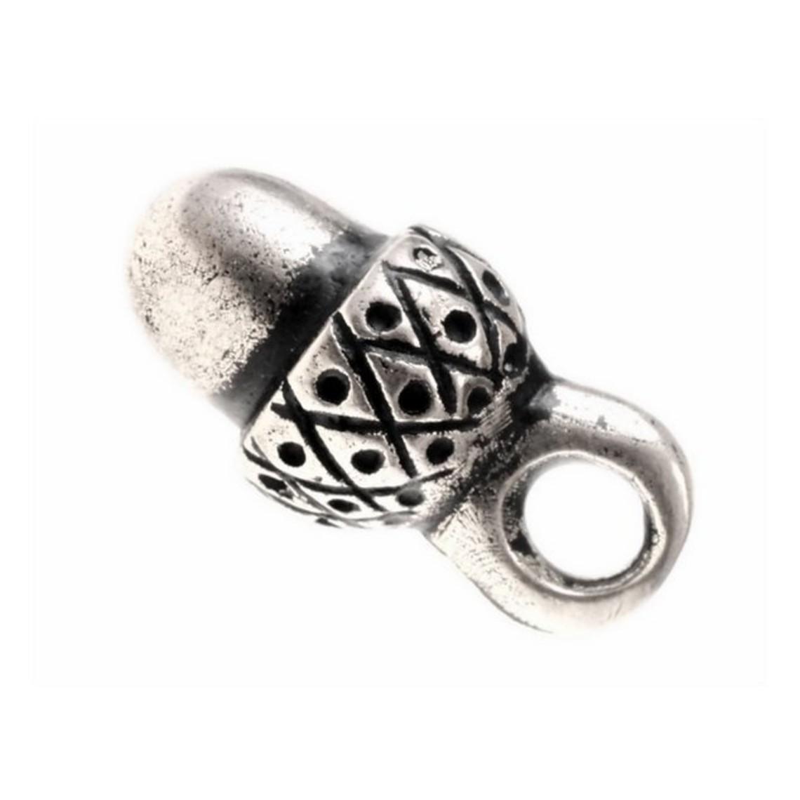 15ème siècle poivrée boutons, un ensemble de 5 pièces, étain