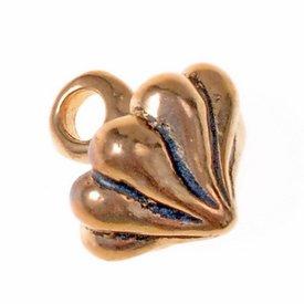 boutons-13 du 15ème siècle, un ensemble de 5 pièces, bronze