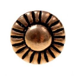 botones de bronce 1450-1600, juego de 5 piezas
