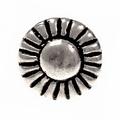 pulsanti peltro 1450-1600, set di 5 pezzi