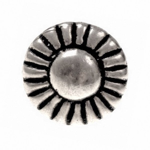 Tinnen knopen 1450-1600, set van vijf stuks