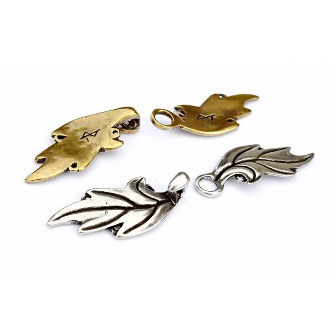 Elven kappe lås, bronze
