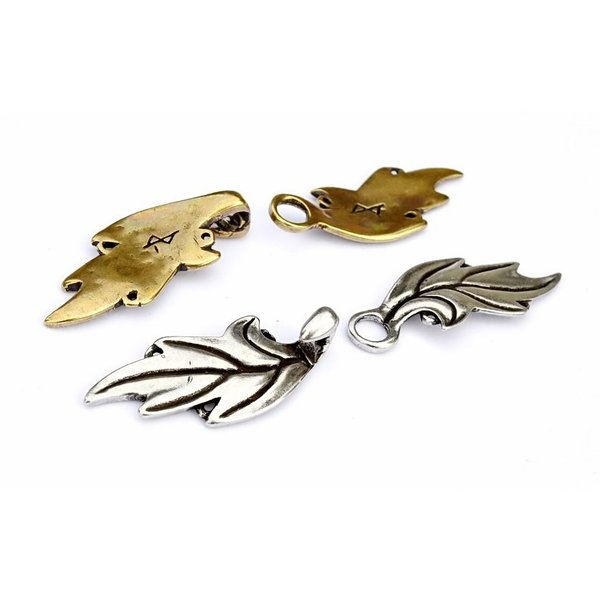 Elven mantel lås, brons