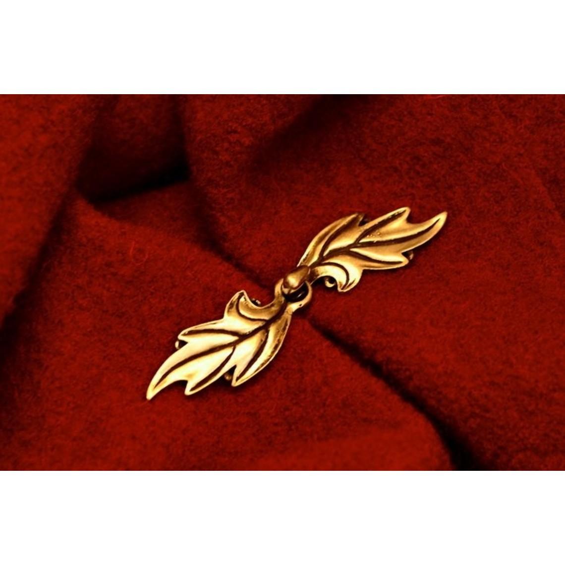 Elven mantelsluiting, brons