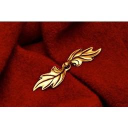 Elven cloak clasp, silvered
