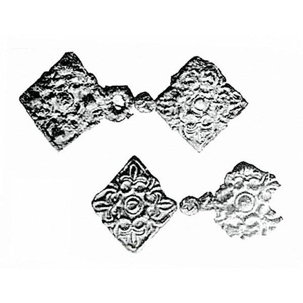 Rusvik Kaftan clasp, silvered