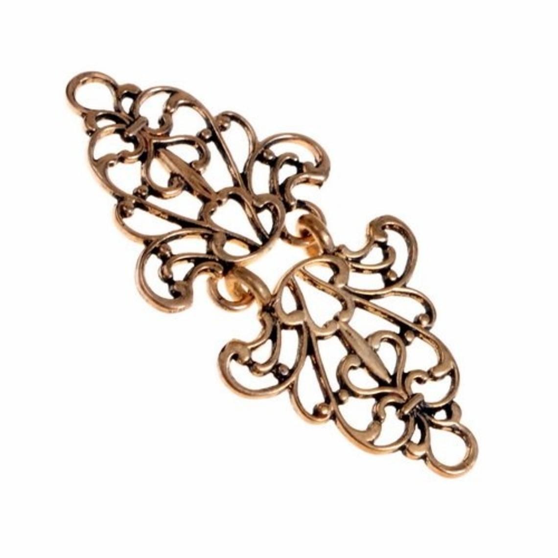 Renacimiento capa corchete, bronce