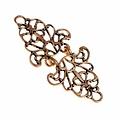 Renæssance kappe lås, bronze