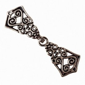 Avarian cloak clasp, silvered