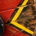 Epic Armoury LARP schild Thegn, rood, 70 cm