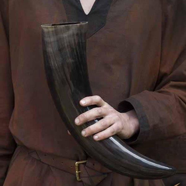 Epic Armoury Drinking horn Valhalla 1,5 L, mørke