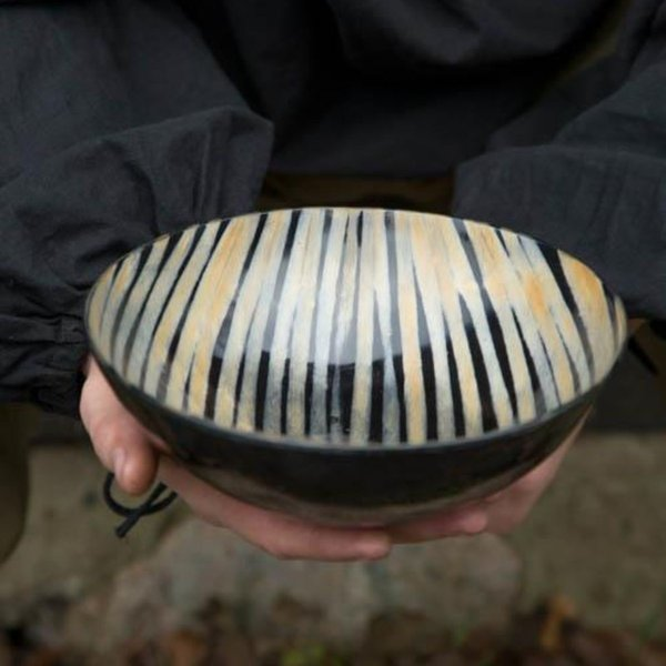 Epic Armoury Hornskål 16 cm, lys