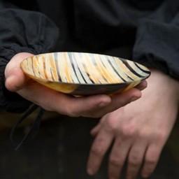 Horn bowl 16 cm, light