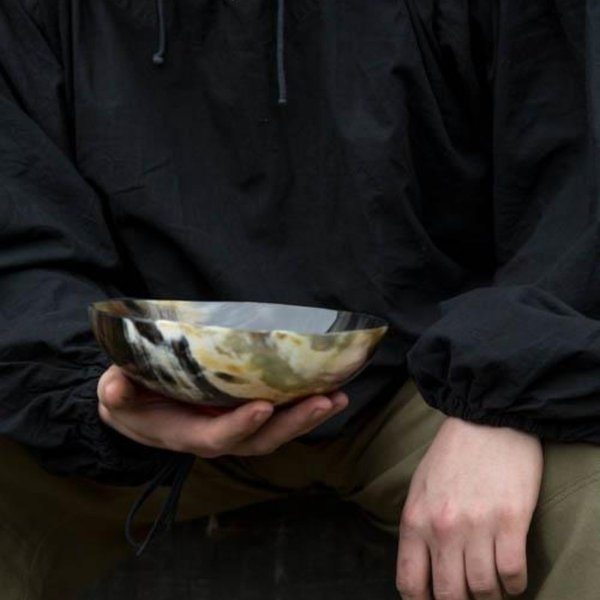 Epic Armoury Horn bowl 20 cm, dark