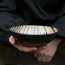 Horn bowl 20 cm, light