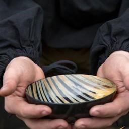 Corno piastra 15 cm, luce