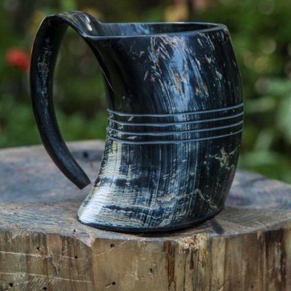 Epic Armoury Horn cup Shetland, dark