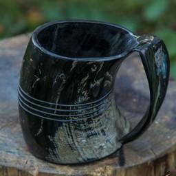 Cuerno taza de Shetland, oscuro