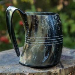 Horn cup Shetland, light